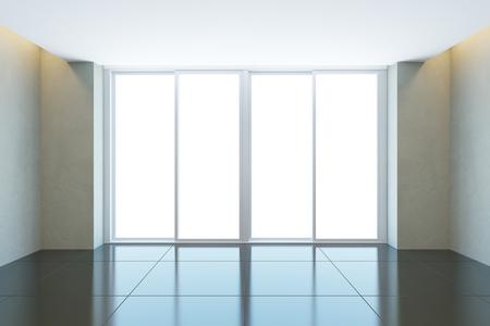 empty office: empty office room with window