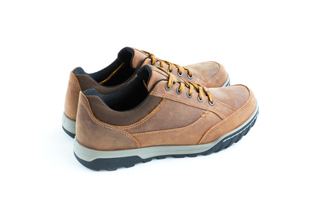 jogging shoes: isolated male modern style jogging shoes