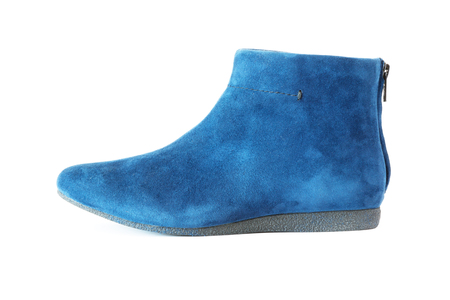 suede: blue womens suede boot
