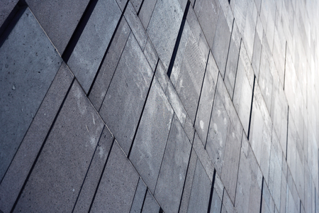 architectural exteriors: Abstract wall detail Stock Photo