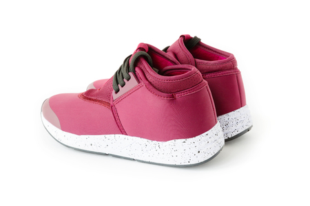 isolated unisex modern style sport shoes Stock fotó