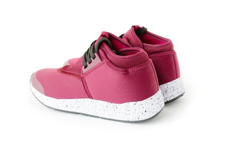 isolated unisex modern style sport shoes 版權商用圖片