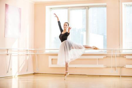 'ballet girl': Young ballet dancer