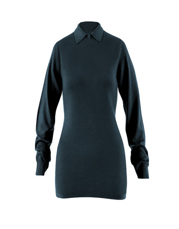 long sleeves: Womens blouse with long sleeves Stock Photo
