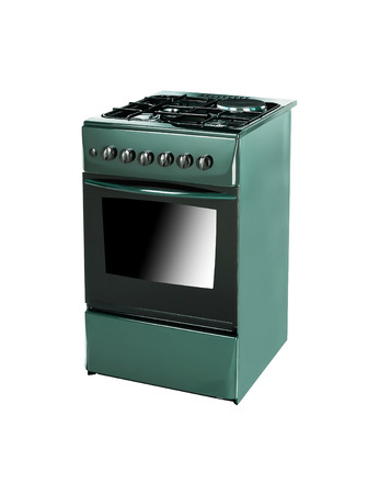 bakeoven: Oven isolated on white