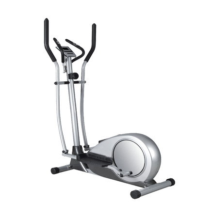 Stationary training bicycle Banque d'images