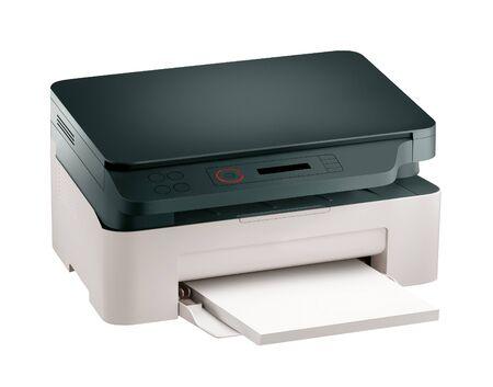 scaner: Printer scaner Stock Photo