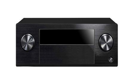 sound system: Black sound system