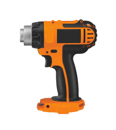 impact wrench: electric battery powered impact wrench Stock Photo