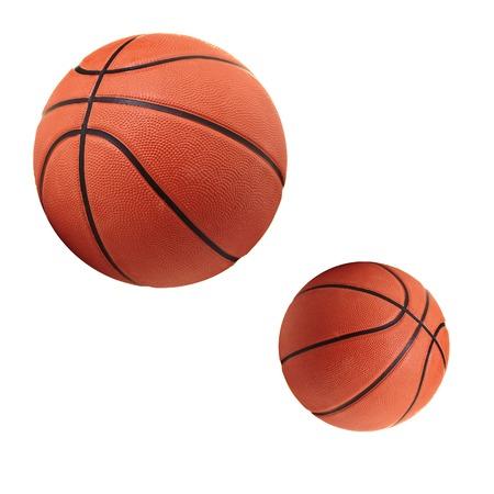 international basketball: Balls Stock Photo