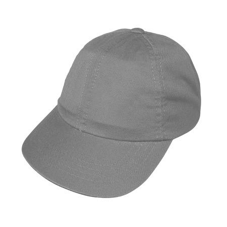 peaked: brown peaked cap
