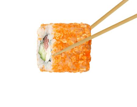 susi: sushi  on white backround