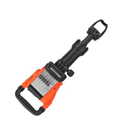 presslufthammer: Presslufthammer auf wei�em Hintergrund