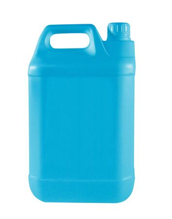 canister: nice blue canister Stock Photo