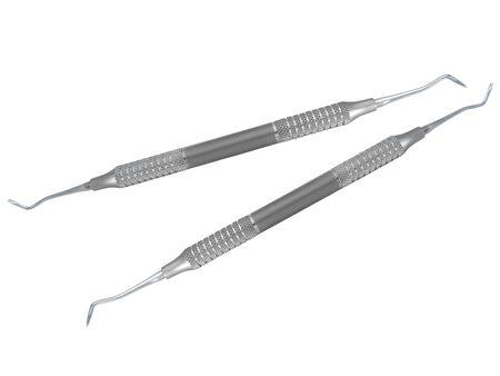 dentist probe dental equipment Stock Photo