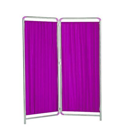 folding: folding screen on white backround