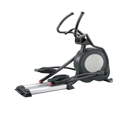 elliptical: Elliptical gym machine Stock Photo