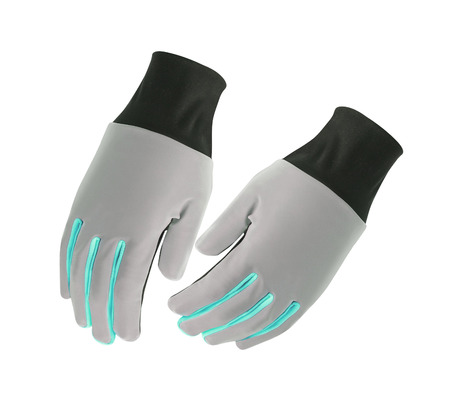 working gloves: Protective gloves isolated on white