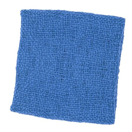 blue carpet: blue carpet Isolated on white
