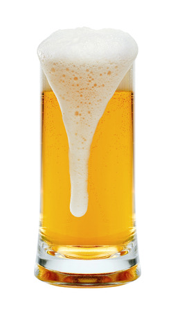 un bottled: beer on a white background Stock Photo