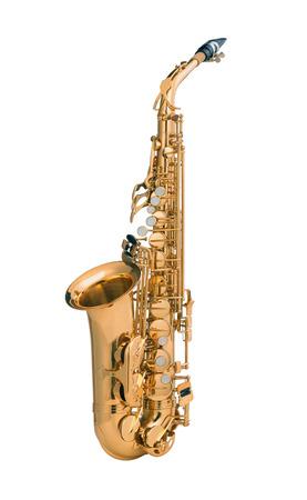 tenor: Tenor sax golden saxophone