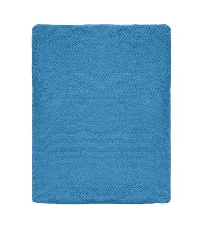 blue blanket: blue blanket in white background