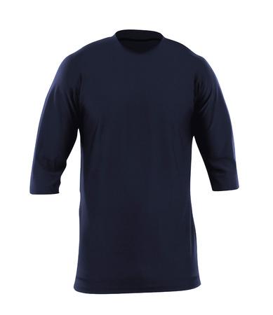 sweatshirt: sudadera azul Foto de archivo