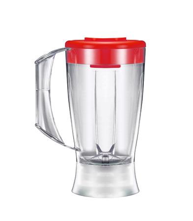 liquidiser: electric blender on a white background