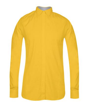 yellow shirt: Yellow Shirt isolated