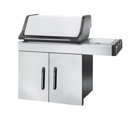 gas cooker: Stainless steel gas cooker with oven