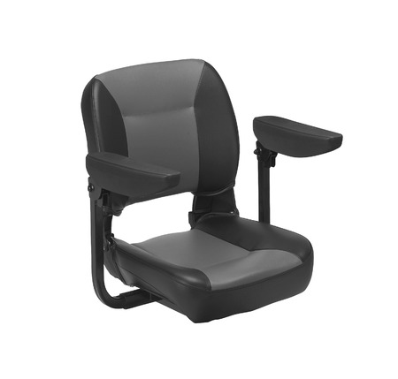 orthopaedic: A Modern chair for electric wheelchair Stock Photo