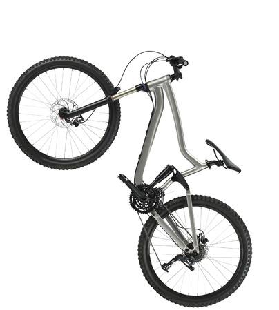 titanium: hardtail mountain bike