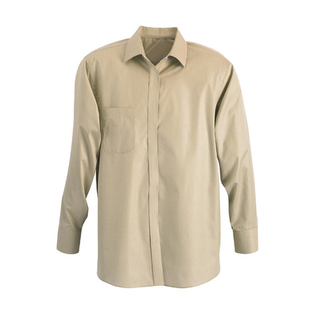 dry cleaned: A new grey mans shirt