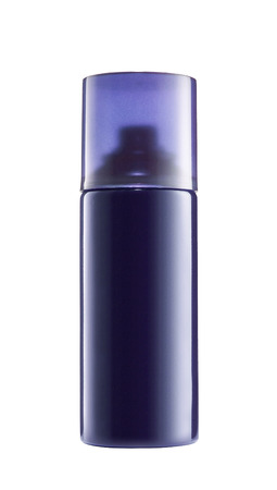 blue spray can