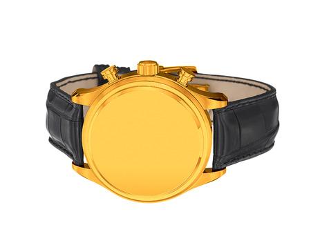 wrist: Mens luxury gold wrist watch