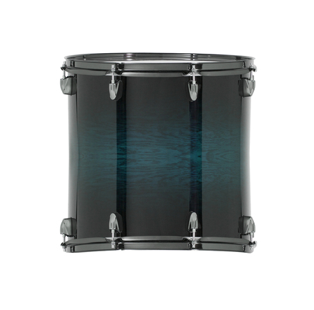 pulsating: drum isolated on white background