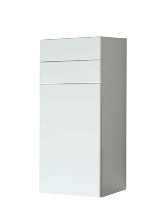 arredamento classico: Bianco cassettiera in legno isolato Archivio Fotografico