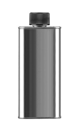 aerosol: Gray Aerosol Spray Metal Bottle Can Stock Photo