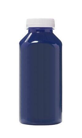 vibrant paintbrush: Bottled Black water color