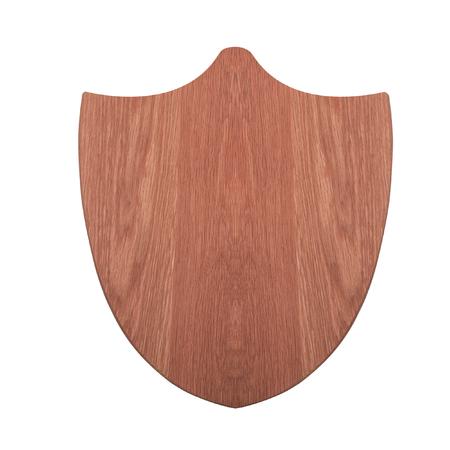 venado: trofeo de caza placa de montaje de cabeza de ciervo aislado en el fondo blanco