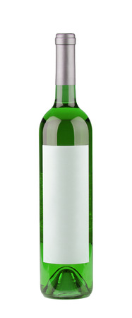 intoxicate: absinth isolated on white