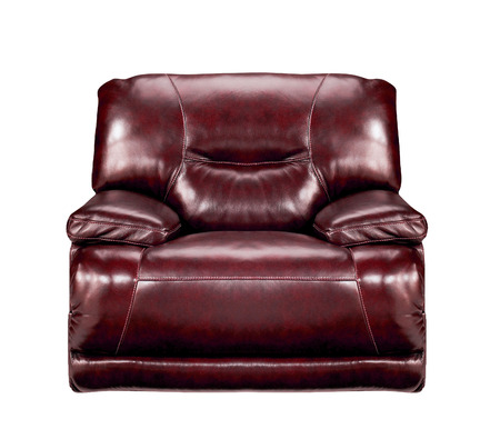 leather chair: brown leather chair