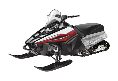 snowmobile ski-doo isolated