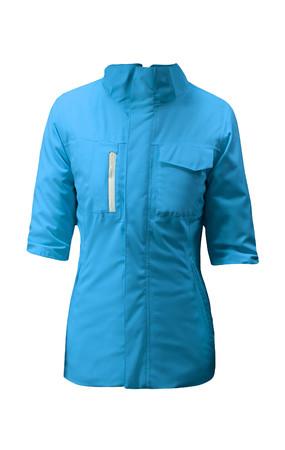 winter jacket: blue winter jacket