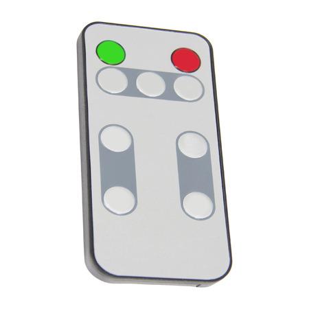 media center: Single infrared remote control for media center