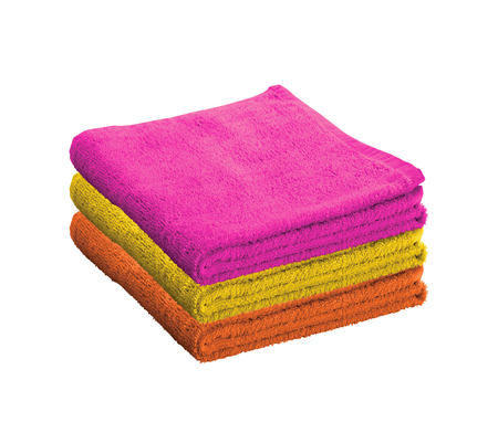 household tasks: Bath towels isolated