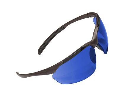 sporting eyeglasses