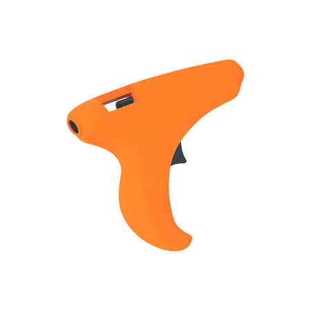 Single orange pistol for glue
