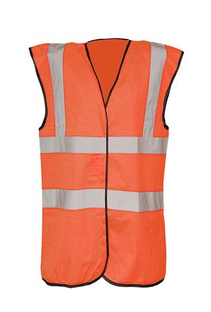 Safety orange vest