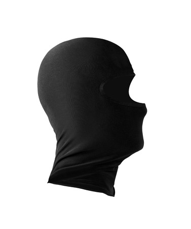 Mask isolated on white background Stock Photo